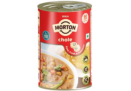Morton ready to eat chole tin