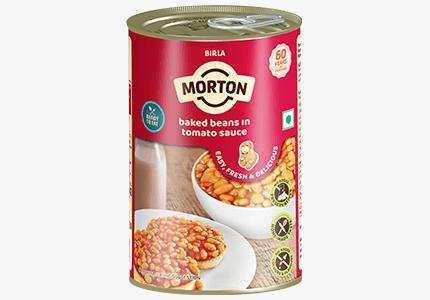 Morton baked beans in tomato sauce