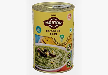 Morton ready to eat sarson ka saag