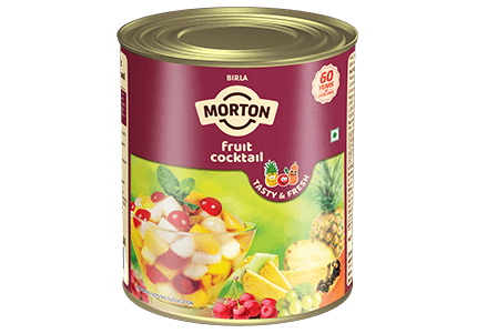 Morton canned fruit cocktail