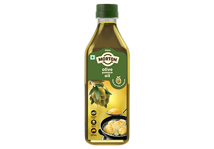 Morton pomace olive oil for cooking