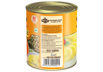 Morton canned pineapple slices