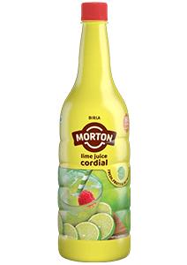 Morton lime juice bottle