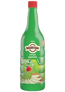Morton mango panna bottle