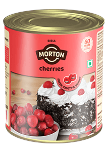 canned Morton cherries