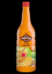 Morton orange squash bottle