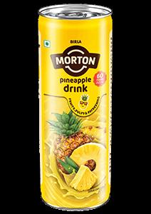 Morton pineapple squash bottle